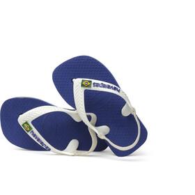 havaianas Brasil Logo II Chaussures Enfant, marine blue